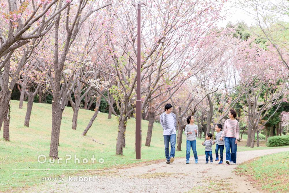 「写真はどれも自然で優しい雰囲気」家族写真の撮影