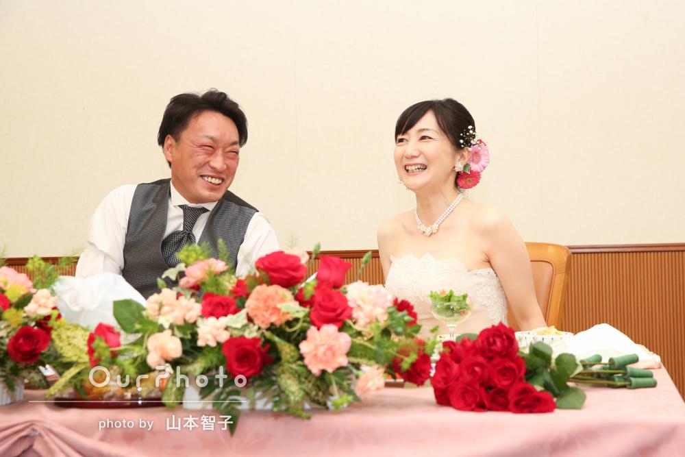 「一生の思い出の写真となりました」結婚披露パーティーの撮影