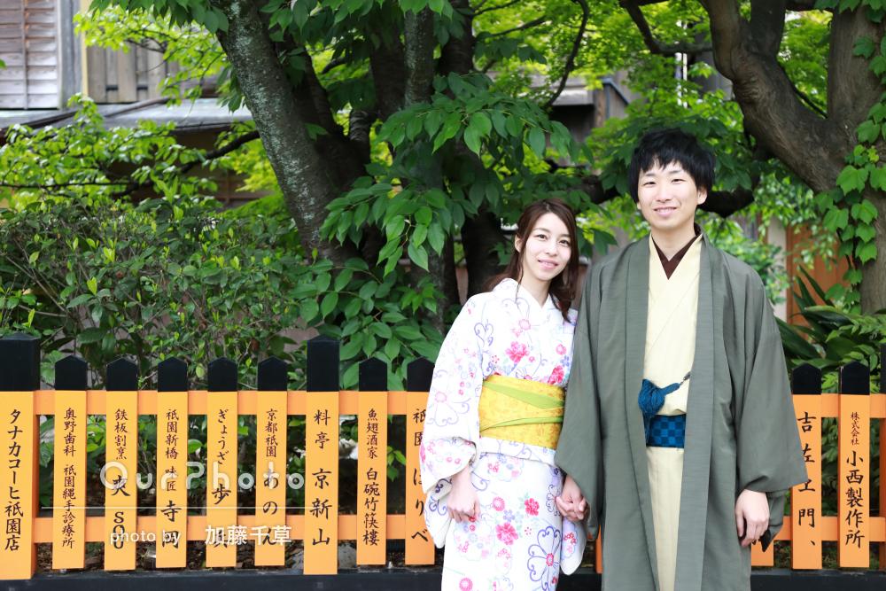 「とても親切」「撮りやすい雰囲気」結婚式用の写真を京都で撮影!