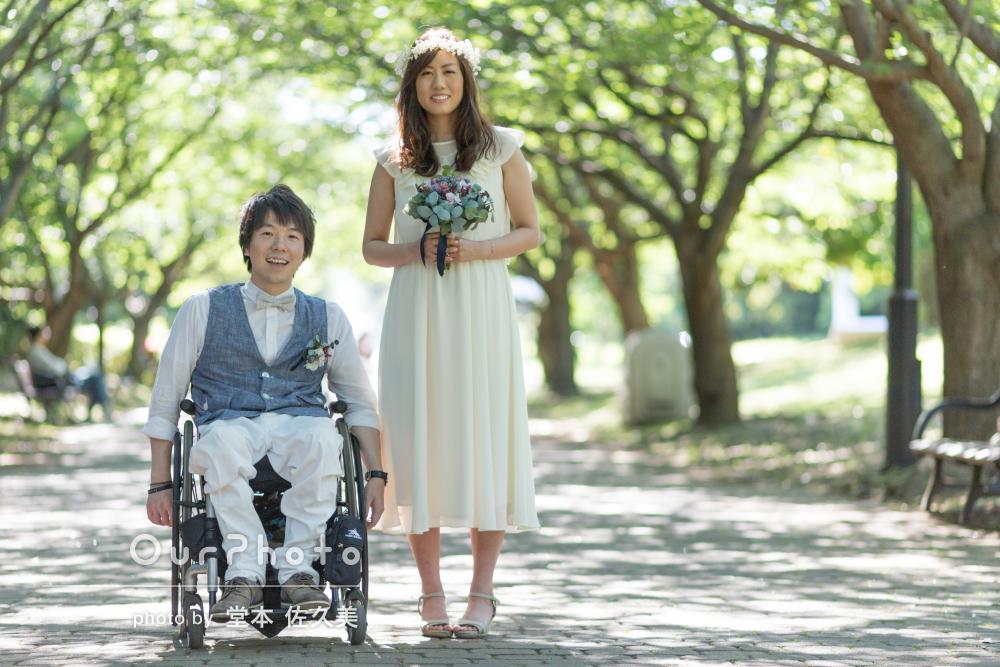 「一生に一度の大切な写真、感謝の気持ちでいっぱい」結婚式の前撮り