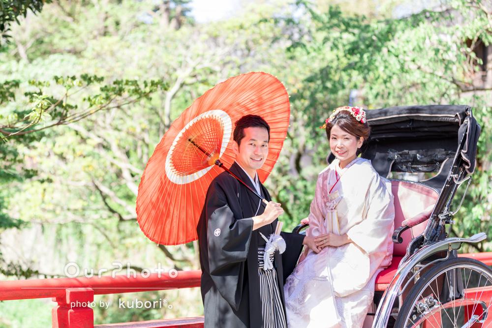 色鮮やか!春らしい日差しのもと和装で結婚式の前撮り
