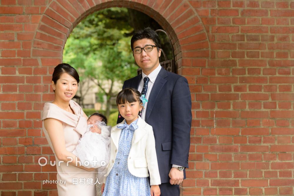 「家族全員が満足の出来る素敵な一日になりました」お宮参りの撮影