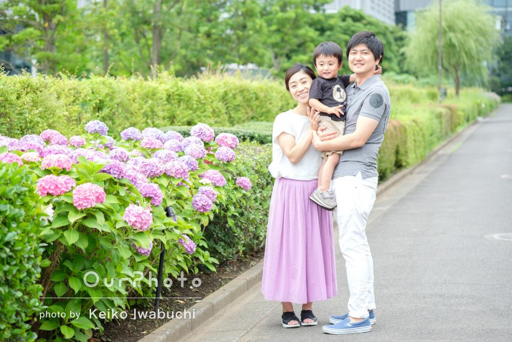 「こんなにスムーズな撮影と思っていませんでした」家族写真の撮影