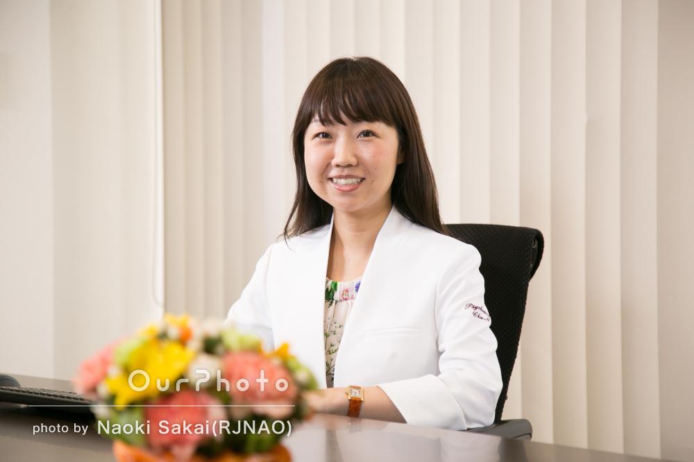 笑顔が素敵!印象アップなビジネス向けプロフィール写真の撮影