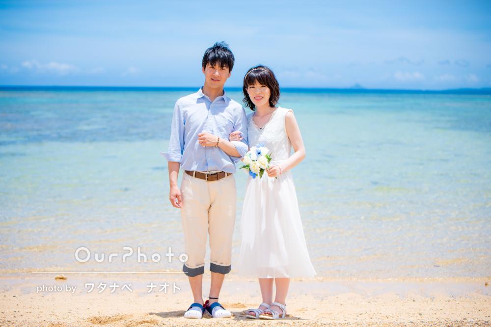 「『前撮りより全然いいね』と褒めてもらえました」新婚旅行の記念撮影