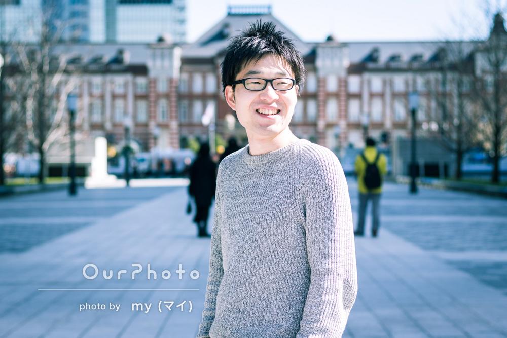 「オシャレな場所での撮影を希望します」プロフィール写真の撮影