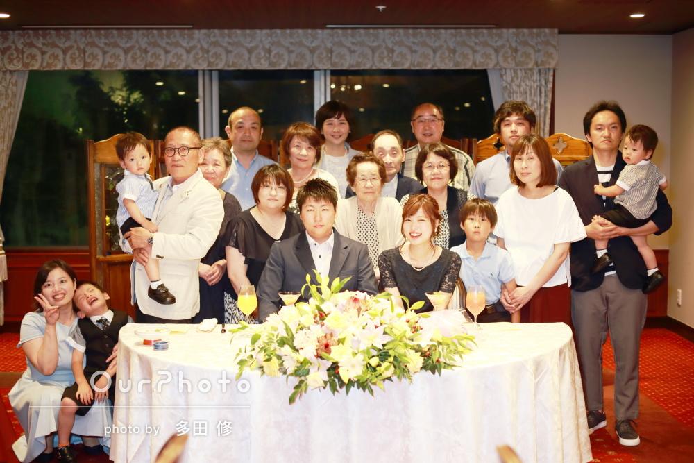 「融通をきかせてくれてありがたかった」結婚祝いの食事会の撮影