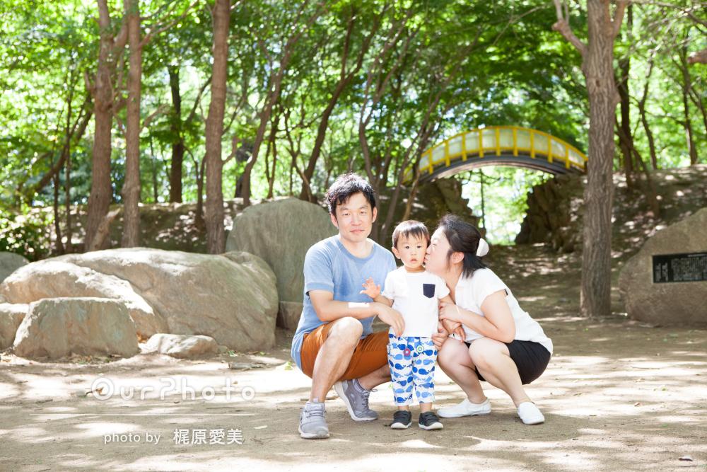 「安心して撮影を楽しむことができました」2歳の記念に家族写真
