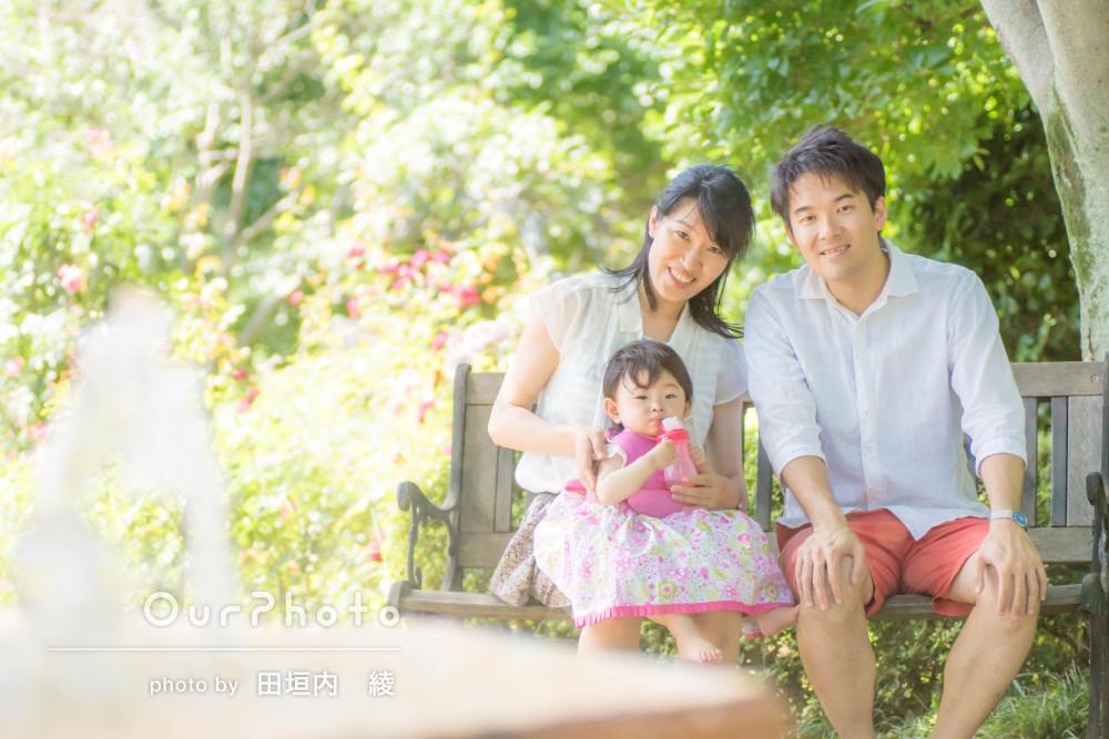 「娘も楽しんでいた」家族でカジュアルフォト撮影