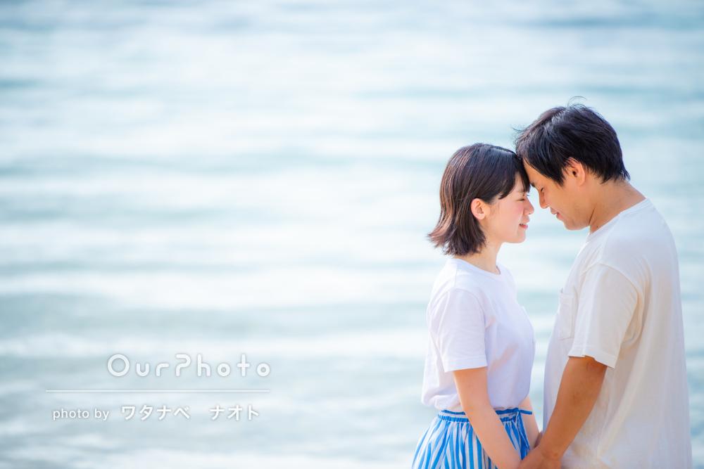 「撮影時間そのものが良い思い出に」新婚旅行先の沖縄でカップルフォト
