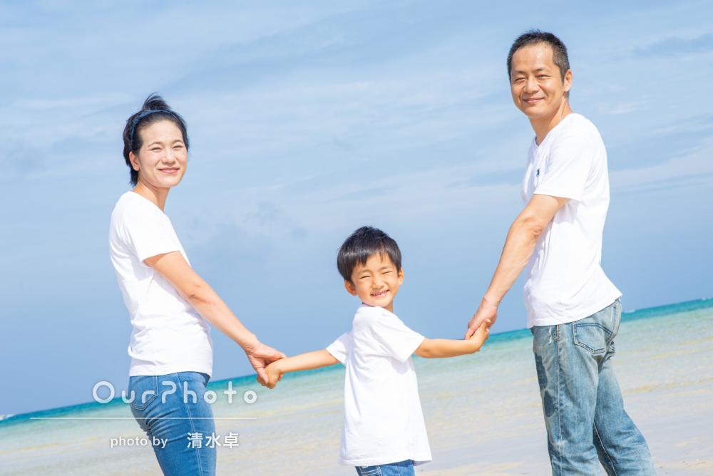 お誕生日記念の沖縄旅行!離島でキラキラ思い出フォト