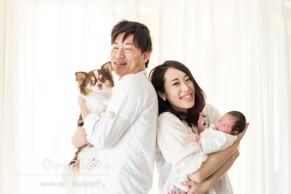 「赤ちゃんの今だけの表情やしぐさを、素敵に切り取ってくださり大変満足です」ニューボーンフォトの撮影
