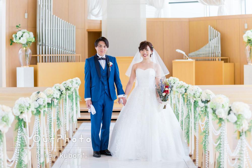 「撮る時はテキパキ!指示も明確!」幸せいっぱい結婚式の撮影