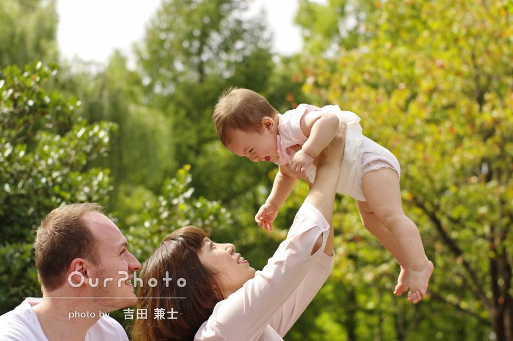 「素敵な写真ばかりで本当に良かったです」愛情たっぷり家族写真の撮影