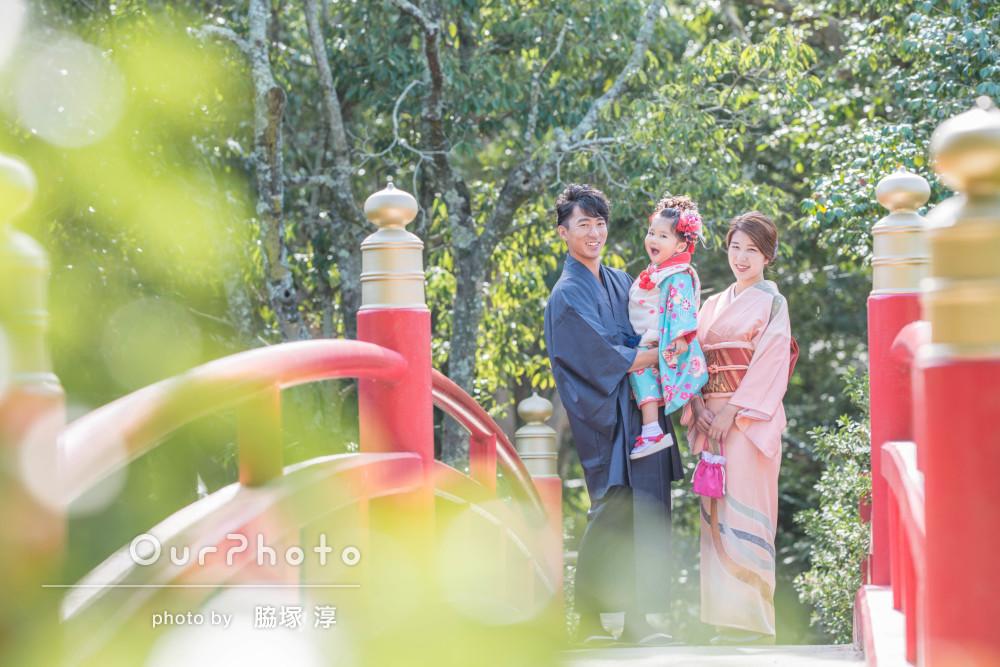 「良いお写真を撮っていただけて家族一同大満足です」七五三の撮影