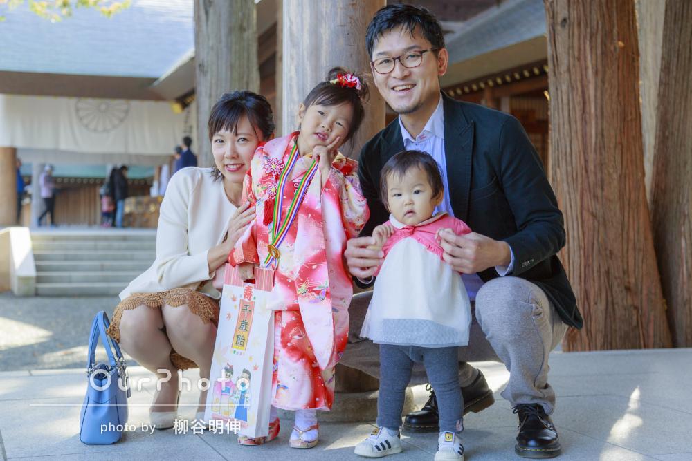 「七五三が家族にとってすごく良い思い出になりました」七五三写真