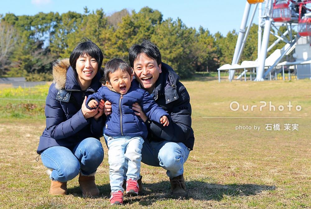 「和気あいあいとした雰囲気で撮影できて楽しかったです!」家族写真の撮影