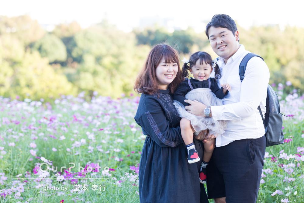 「素敵な写真をたくさん撮ってくださいました」家族写真の撮影