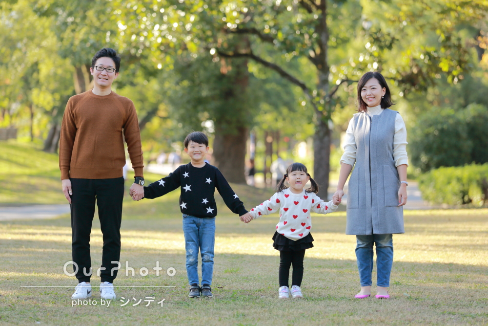 「とても素敵な写真ばかりで嬉しいです」年賀状にも使えそうな家族写真