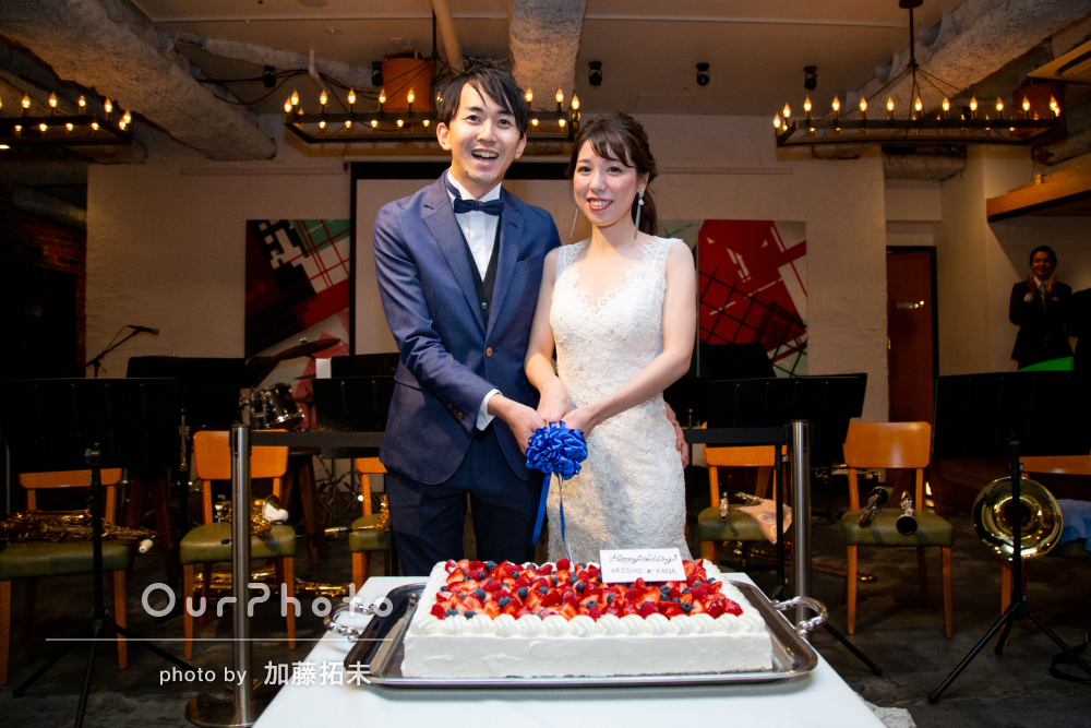 「とても楽しく」自然な表情を切り取る結婚式二次会の撮影