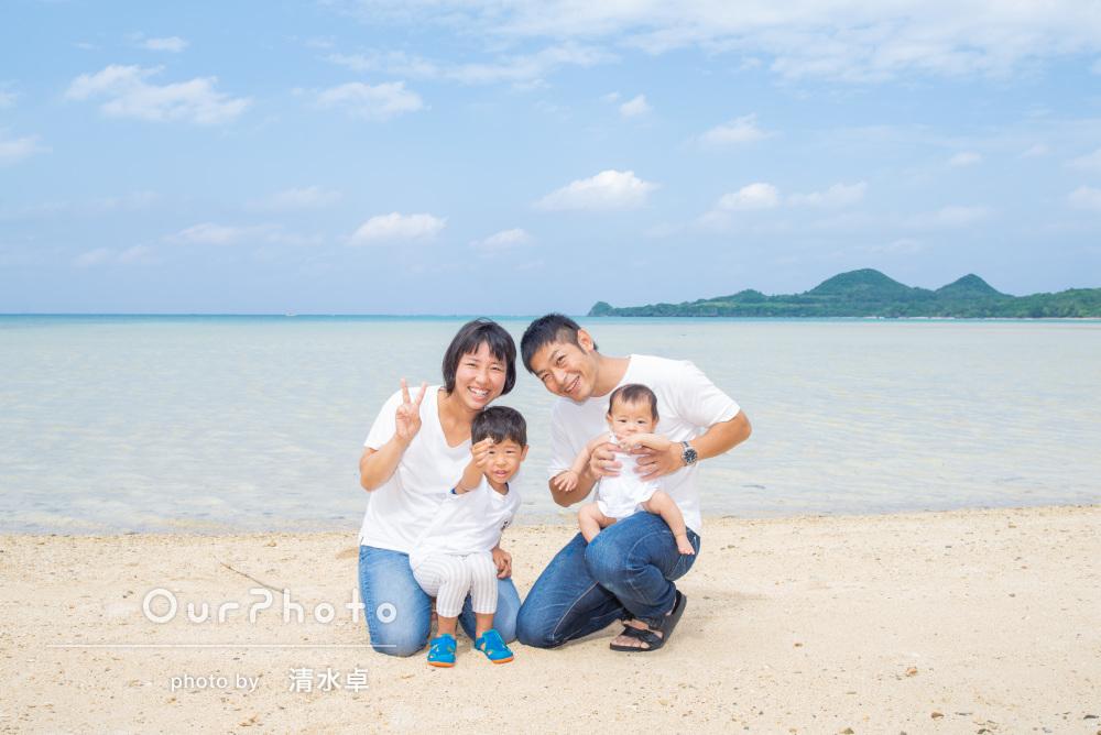 「気さくに相談」もできた!笑顔満開!石垣島で家族写真の撮影