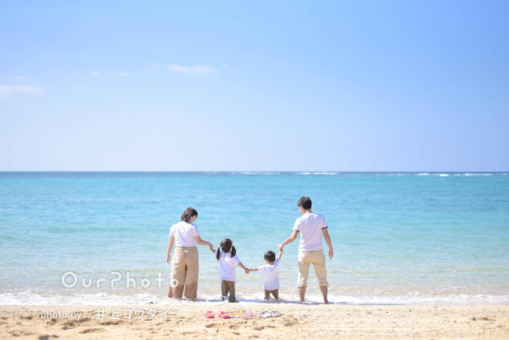 「撮影の希望もよく聞いてくださりとてもよかったです」家族写真の撮影