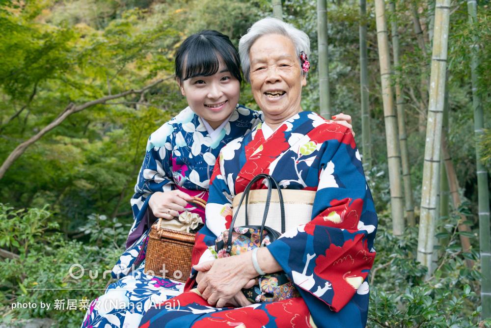 訪日外国人観光客のお客さまの撮影!和装での鎌倉旅行の写真