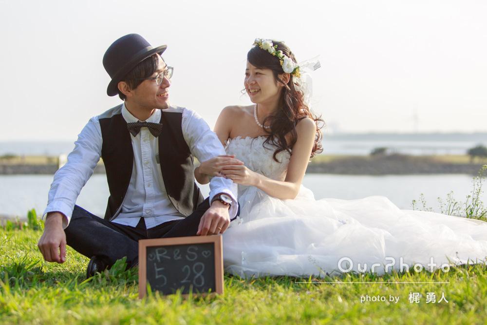 「結婚式のウェルカムスペースでの飾りやムービーで使う写真を撮って欲しい」前撮り・ウェディングフォトの撮影