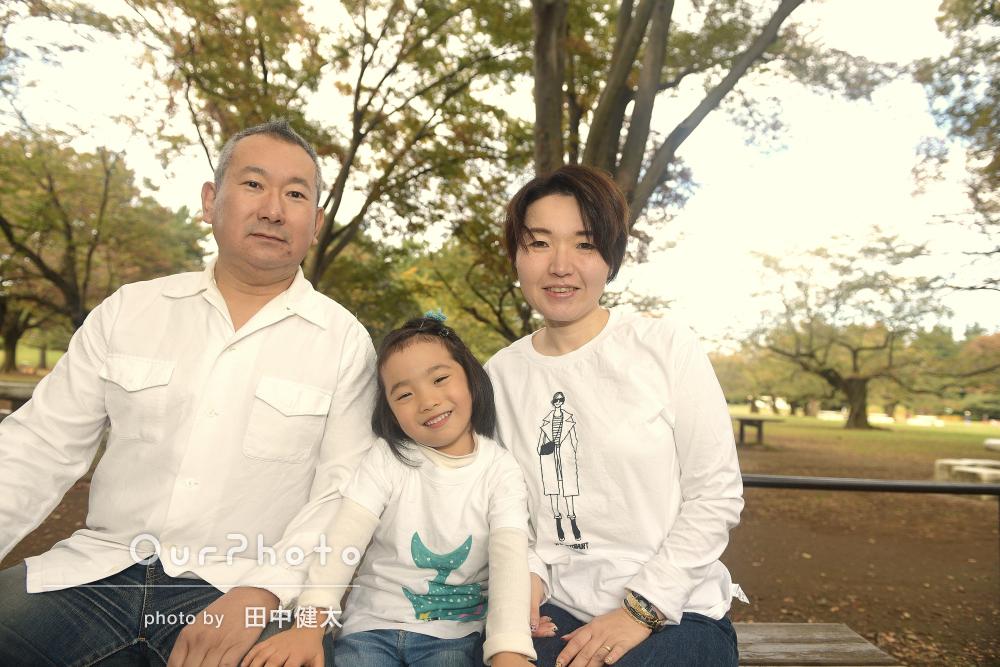 お子様の成長記録にも!楽しく年賀状用家族写真の撮影
