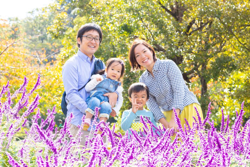 「とてもいい思い出を残すことができました」家族写真の撮影