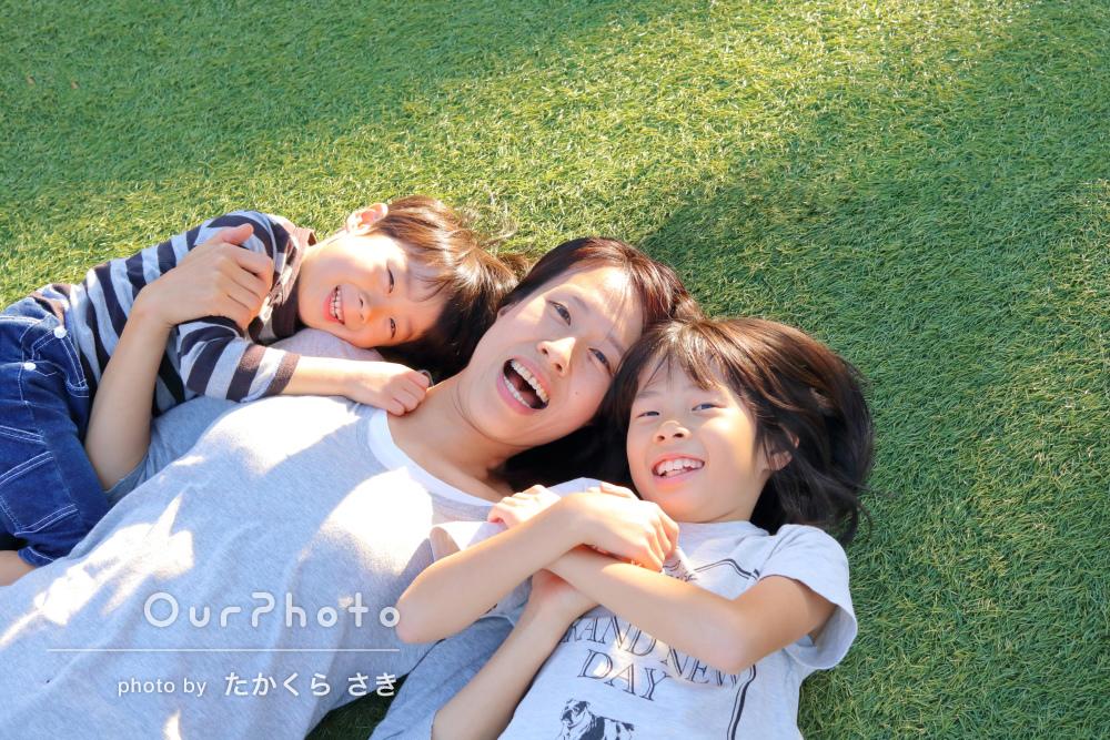 「普段通りの表情を引き出してもらえ良かったです」家族写真の撮影