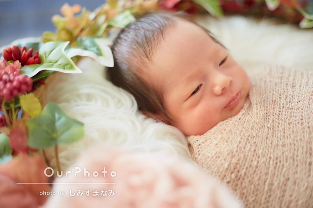 「赤ちゃんの扱いも慣れていたので安心」ニューボーンフォトの撮影