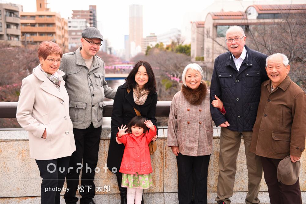 「英語、日本語交えて、気さくに対応してくださり感謝です」家族写真の撮影