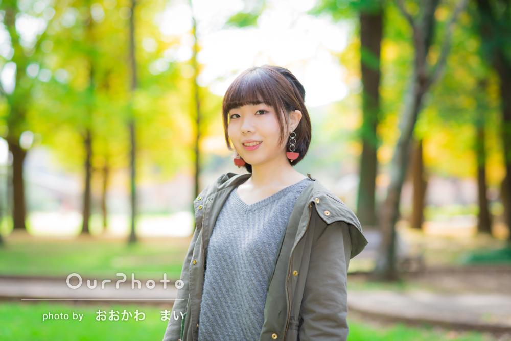 「写真集の表紙のように」秋のプロフィール写真を撮影してほしい!