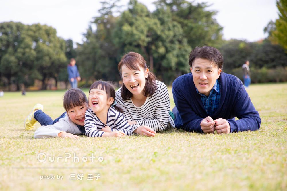 ユニークな写真もたくさん!「笑顔いっぱい」家族写真の出張撮影
