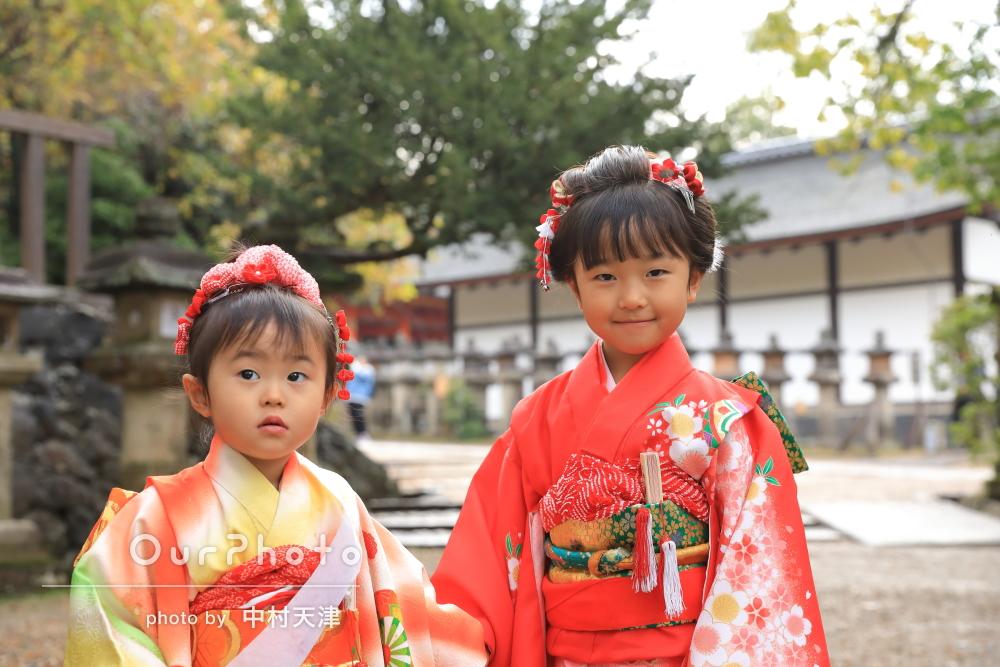 「いつも見る子供たちの自然な表情」七五三写真の出張撮影
