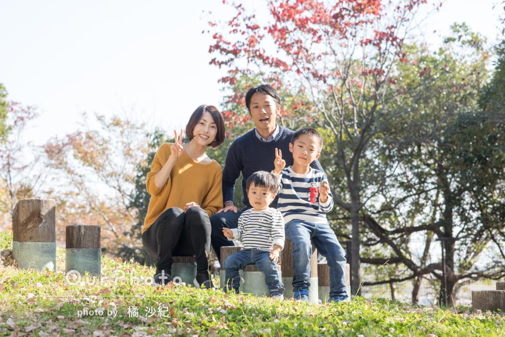 日常の様子を色鮮やかに!ナチュラルな家族写真の撮影