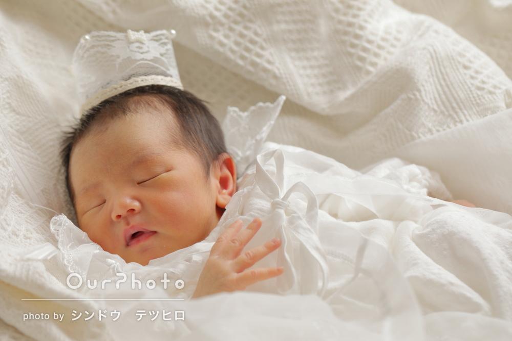 「産まれたての瞬間を可愛い写真で」ご自宅でニューボーンフォト