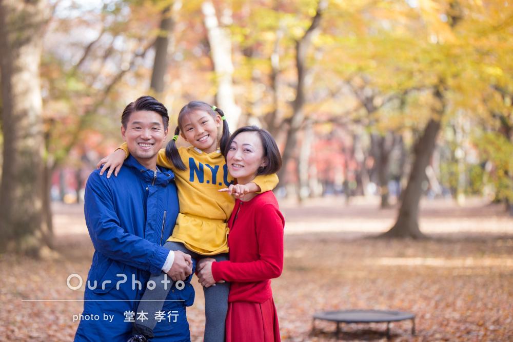 「楽しく撮影、写真も最高」家族でカジュアルフォトの出張撮影