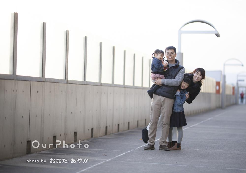 「普段は撮れない家族全員や夫婦だけの写真も思い出に」年賀状撮影