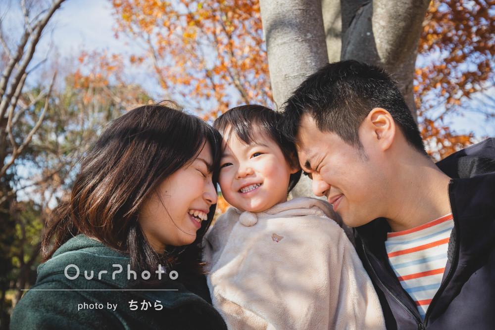 「素敵な写真を撮っていただけて大満足」年賀状用とマタニティ家族写真