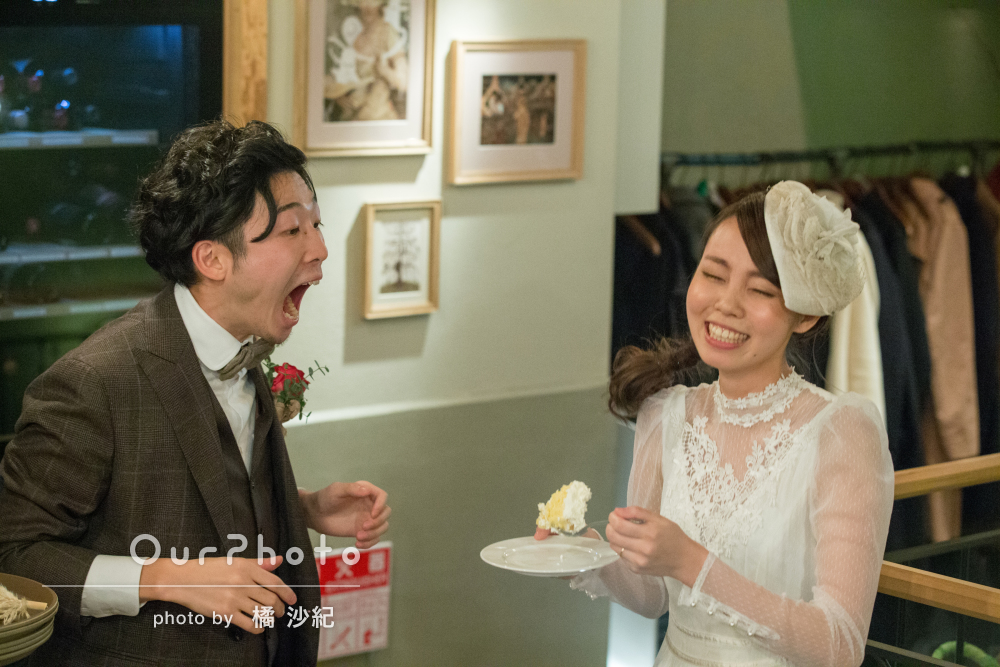 「雰囲気が伝わってくる素敵な写真」結婚式の2次会の撮影