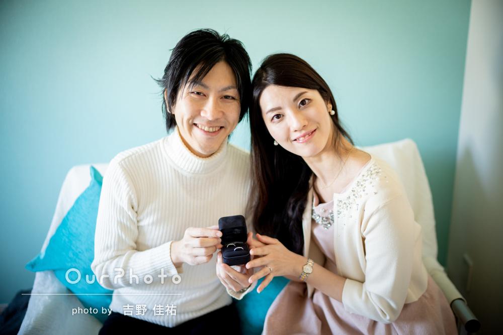 独身最後の時間を写真に婚姻届提出直前のエンゲージメントカップルフォト