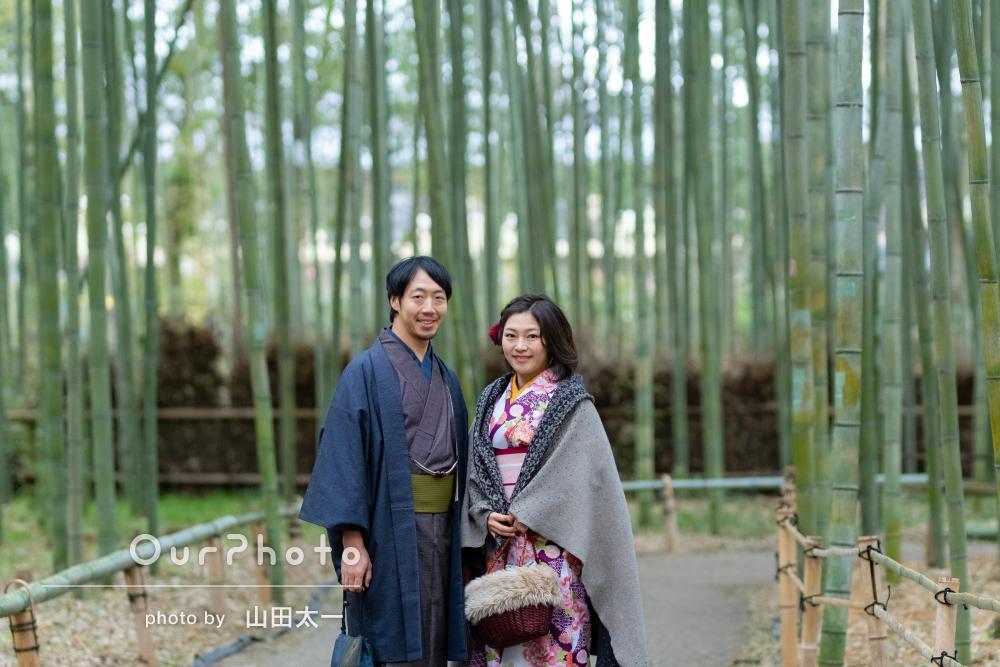 久々の再会に京都で思い出になるカップルフォト撮影