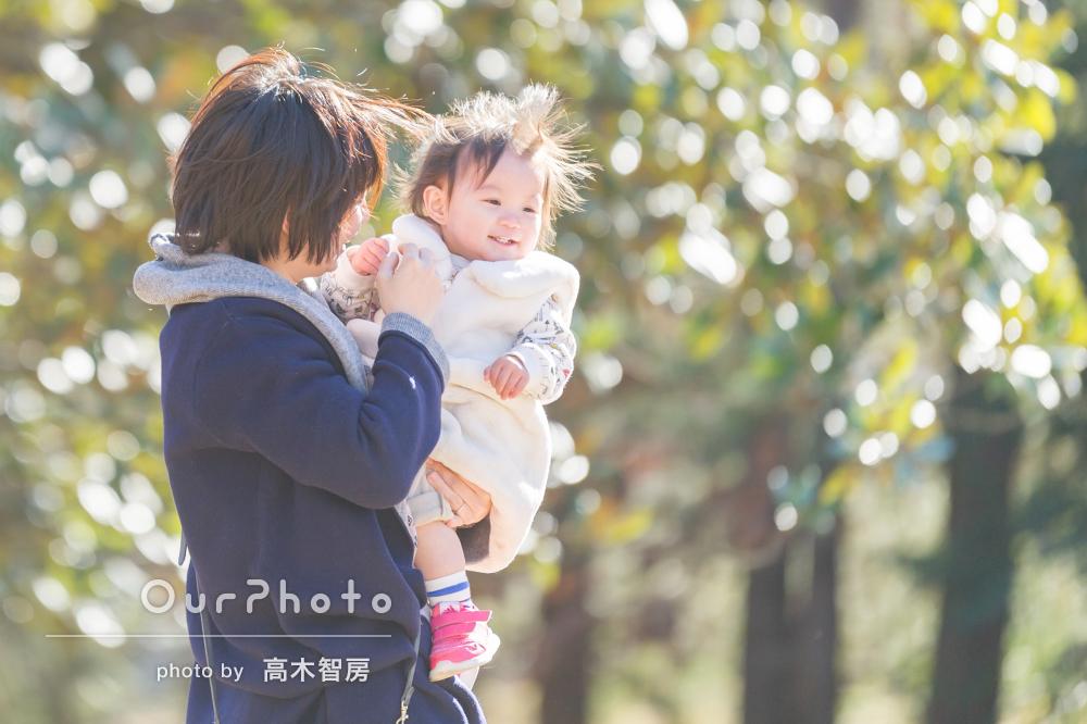 「娘の最高の笑顔、宝物」成長の記録にもなる親子フォト