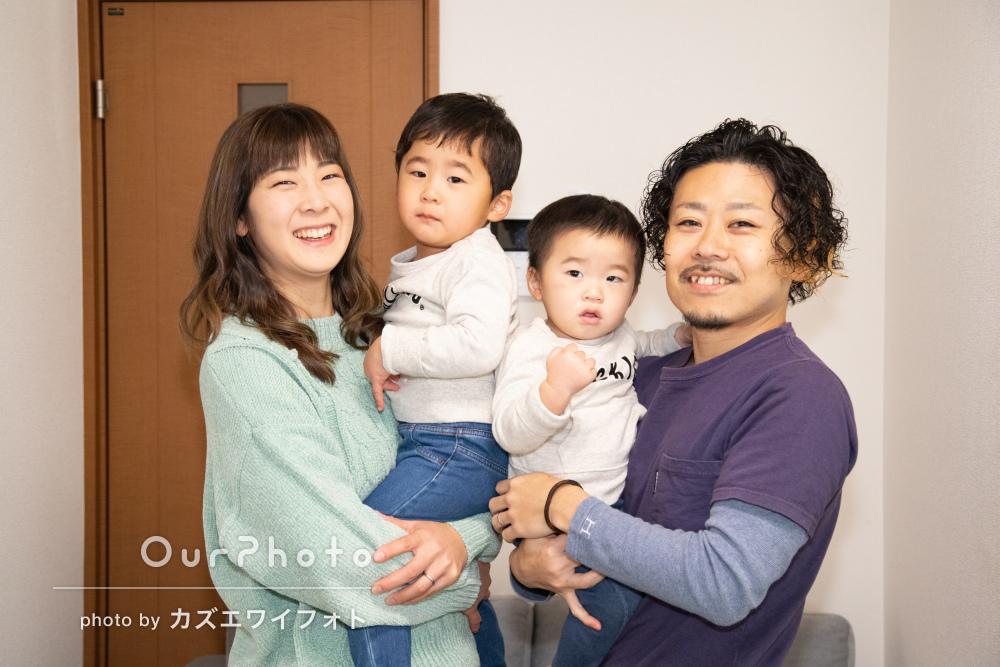 「子供達もいつも通りの姿」出張撮影で家族の日常風景を写真に