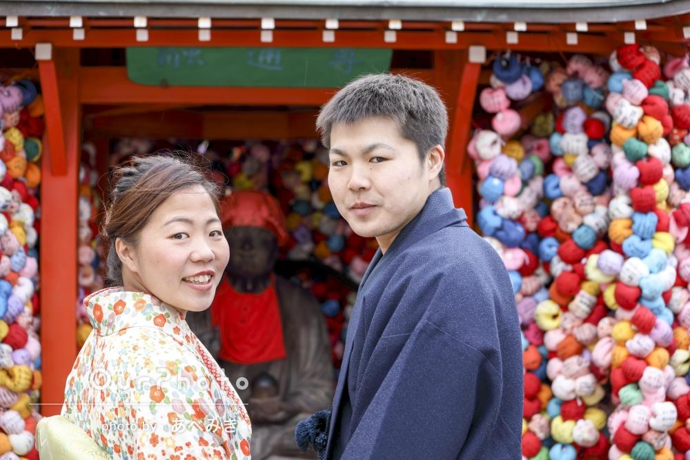 撮影後に婚約「一生忘れない思い出となりました」京都でカップルフォト
