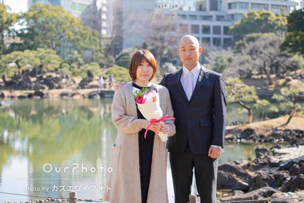 結婚の記念に!記念写真と両家の食事会の様子を撮影