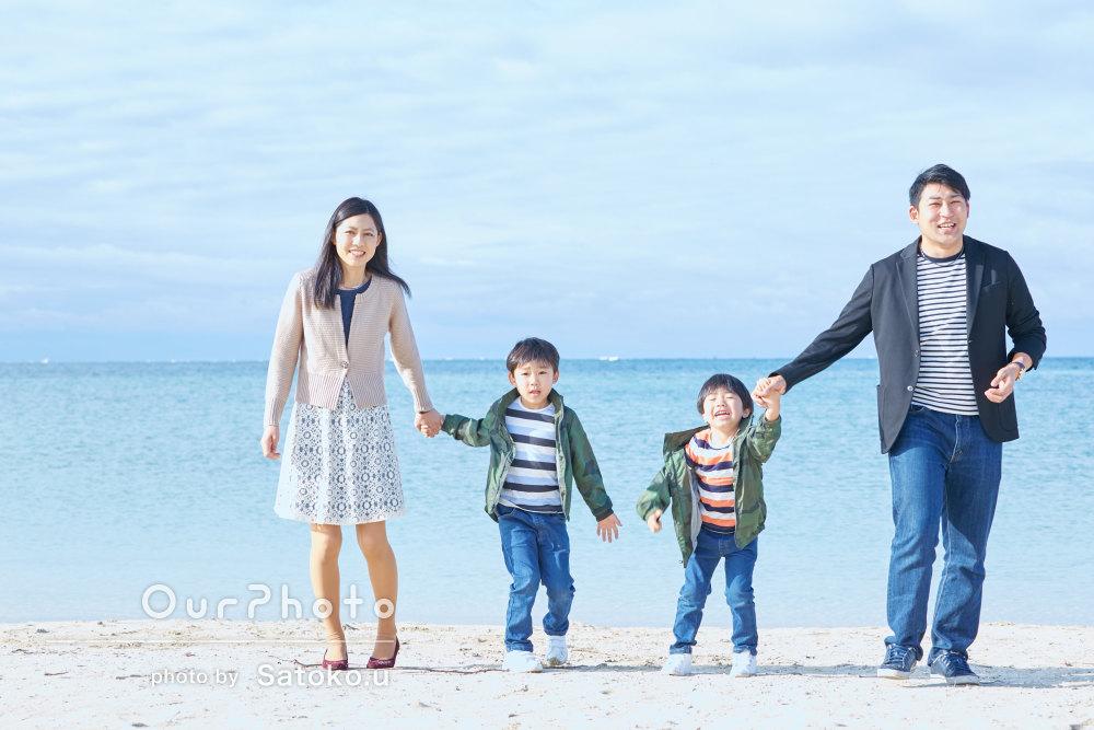 「とても良い思い出になりました」家族旅行の撮影