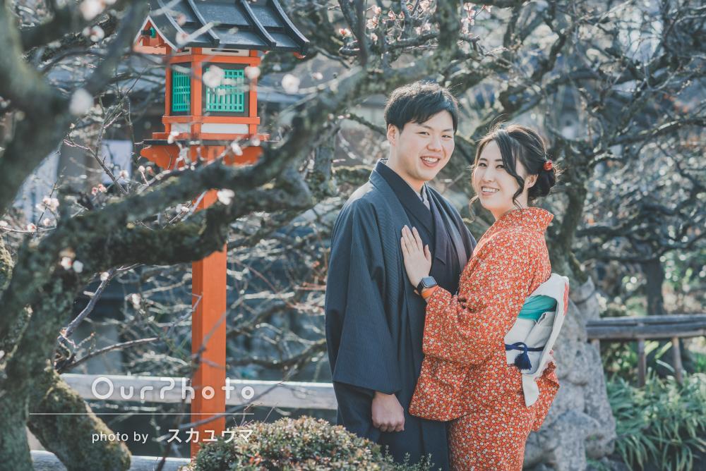 旅行で着物を着て京都に!SNSに載せたくなるカップル写真の撮影